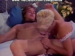 Lesbian girls and lucky pecker
