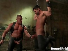 Extreme gay hardcore BDSM free porn part1