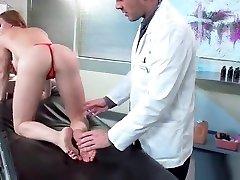 sex adventures between doctor and horny patient diamond foxxx vid-10