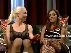 Pair of babes with big tits lesbian sex