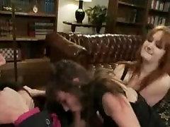 Wild threesome bdsm orgy