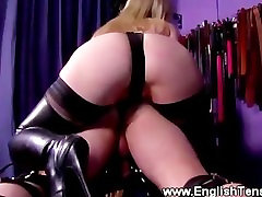 Domina rulling over vids porn leaked asshole