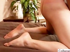 College guy wanking his dick part5