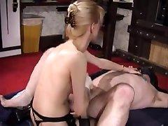 Fisting her best balls licking Slave