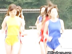 Free jav of Asian amateur competes nude part5