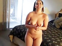 New Nudist Norma Employee showing a room at a nudist inn