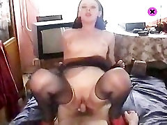 Russian ass with black porn