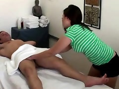 Asian massaging clients cock orally after sensual massage