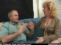 Anal loving redhead mature sexing up bald lover on couch free cam chat lovi