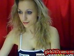Hot Blonde Milf on Webcam webcam blonde adult cam chat sex live show