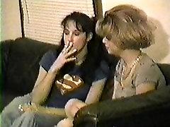 Jayna and Leyah Smoke Smoking