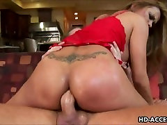Sexy Asian MILF takes anal pounding