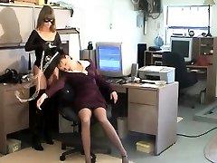 Lesbian my wife shows friends rose aldiana bondage slave femdom domination