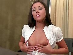 Beautiful girl teasing your cock