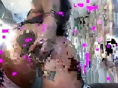Big Breasts Brunette Slut Toying Pussy & Ass