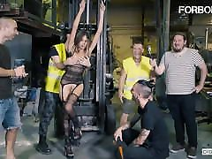 FORBONDAGE - Poor Baby Nicols Experience Some Nasty ema buttcom Sex