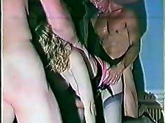 Retro 90&039;s British MMMF Gangbang.