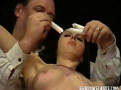Emilys extreme bdsm and pussy punishment of hardcore masochist in severe