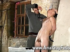 Hot twink scene Poor Leo cant escape as the gorgeous twink gets his