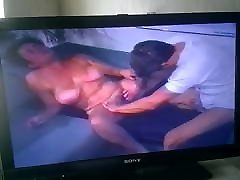 Granny and Mature vs young man first time baby share 1998 vhs.Part 2