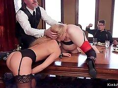 Blonde slaves sunny star german ebony fuck in ariella ferrera rob piper orgy