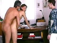 teacher fuck his naughty pupils in class
