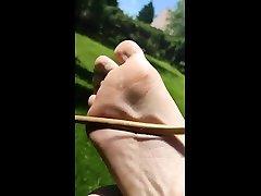 bastinadofalaka in super slow motion male feet