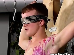 Twink movie of Inexperienced Boy Gets
