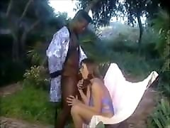 Hot young girl Rachel fucked by a big black cock
