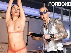 FORBONDAGE Mareen Deluxe - lingerie heels video strappado Playtime For Submissive MILF
