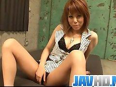 Japanese Rui Shiina gets shared by two horny males - More at JavHD.net