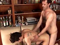 Daddy fucks twink