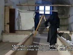 Great lesbian scissorinv scene with a horny nun