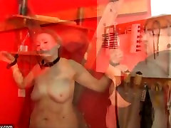 Old granny likes BDSM and young girl likes masturbating
