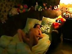 Big Boobs Brunette Teen Dildoing After Waking Up