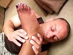 Goddess Max Ebony Foot Worship