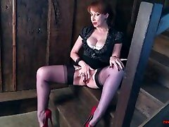 Busty mature Red china gall gets off with her favorite toy
