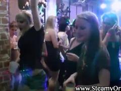 Cfnm party girl lesbian slime shower