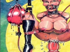 Bizarre Sexual BDSM Orgy Comic