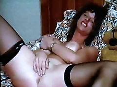 Vintage Milf Julie Masturbates