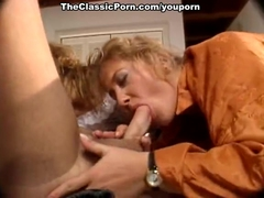 Suck and fuck retro movie with man and two girls