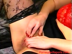 Mature German Blonde Gets a Face Full of CUM!
