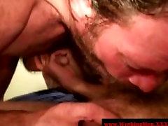 Dirty bear matures giving blowjob