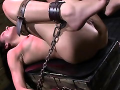 Ava Kellys Hard Bondage BDSM Pussy Test