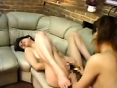 Asian lesbians surrender their fiery slits to one another o