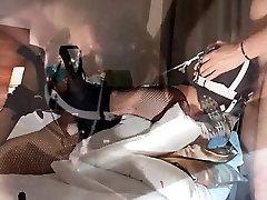 Hogtied ring gag fuck maschine and Tonda from 1fuckdatecom