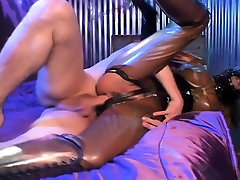 BDSM chick gets her butt stuffed and goes ass to mouth twice