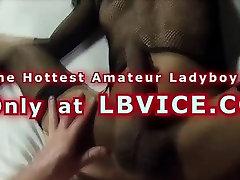 Ladyboy Noon Fucks Guy Bareback