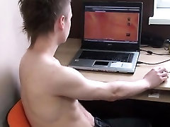 Nu gay twinks boys video Kameron Sucks his own Cock and Bust