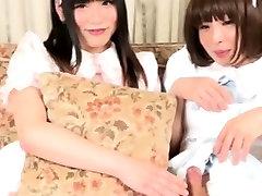 Sweet amaloli japanese tgril on tgirl session